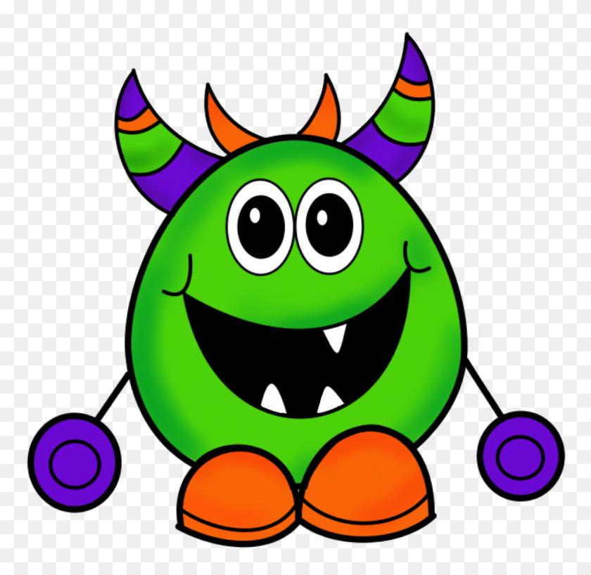 1400x1361 Friendly Monster Clipart Clip Art Images - Monster Clipart