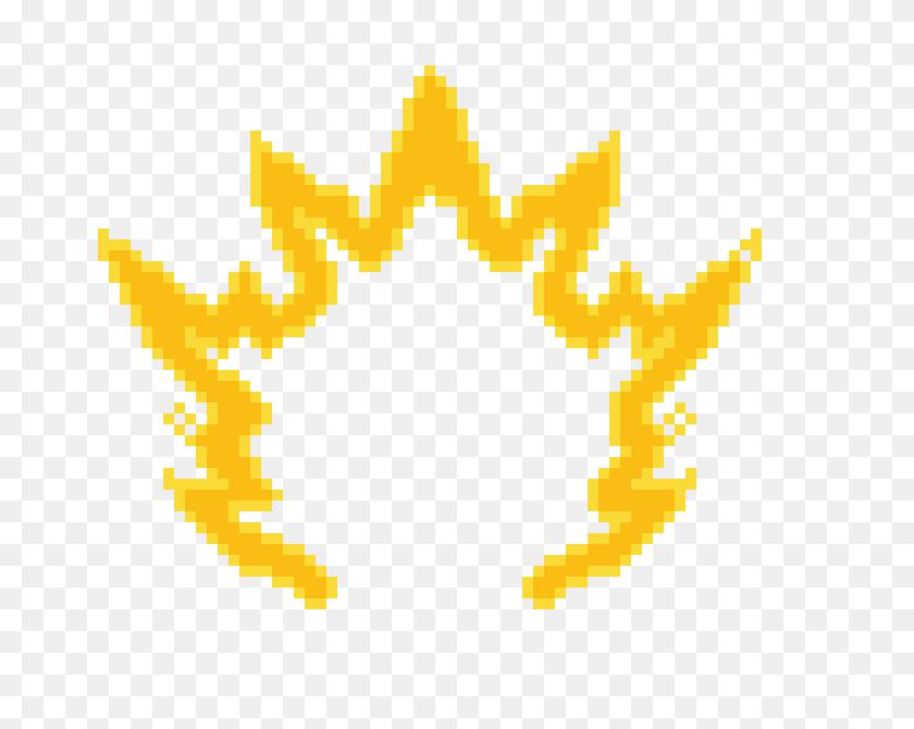 Frieza Aura Pixel Art Maker - Super Saiyan Aura PNG