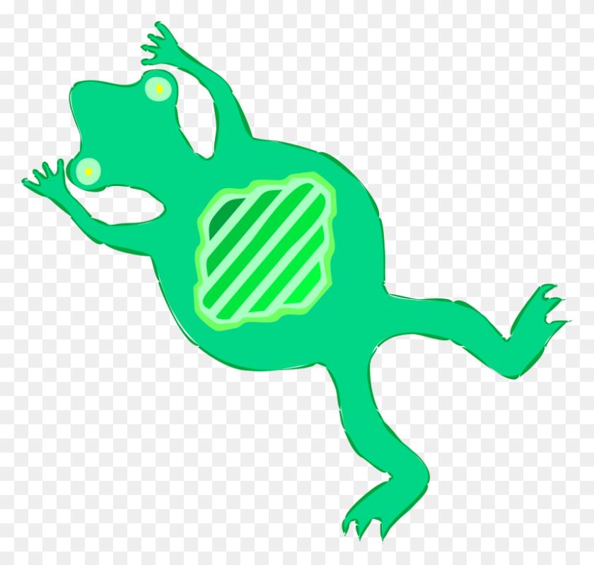 Frog On Lily Pad Clip Art - Frog On Lily Pad Clipart