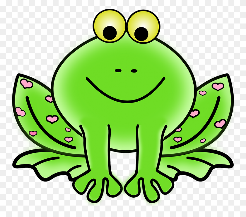 Frog Picture Cartoon Gallery Images - Mouth Speaking Clipart