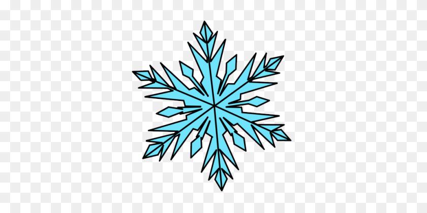 Frozen Snowflake Nature Snowflakes - Frozen Snowflakes Clipart