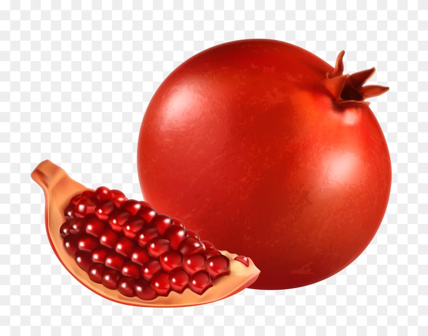 Fruit And Vegetables Clip Art Clip Art - Pomegranate Clipart
