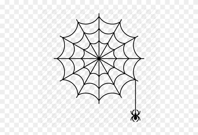 512x512 Full, Round, Spider, Spider Out, Spiderweb Icon - Spider Web PNG