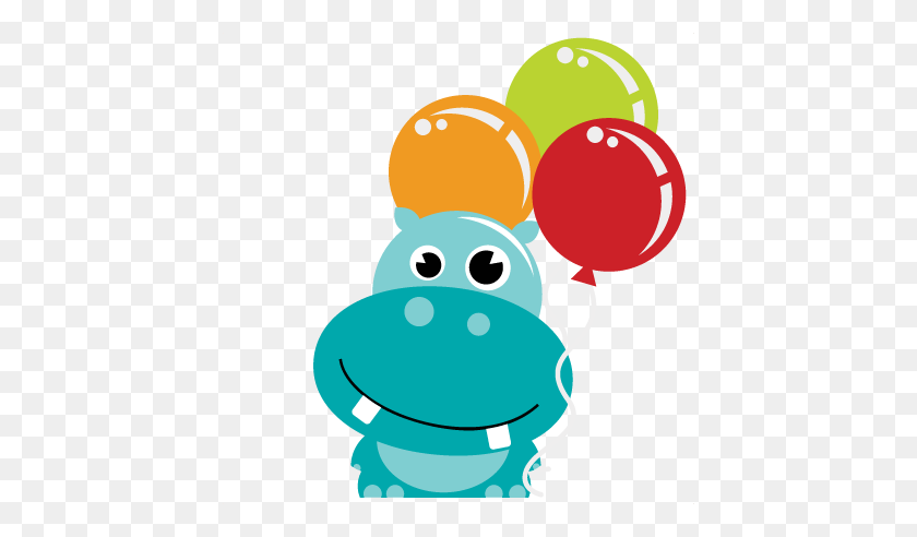 Funny Animal Happy Birthday Clipart Free Clipart Cute Hippo Clipart Stunning Free Transparent Png Clipart Images Free Download