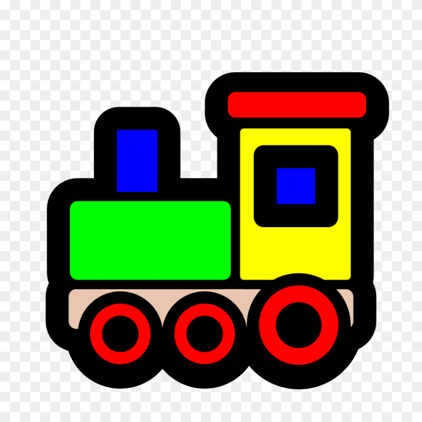 Funny Clipart Train - Funny Monday Clipart