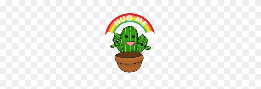 Funny Cute Cactus Hug Me Cactus Cactus - Cute Cactus PNG