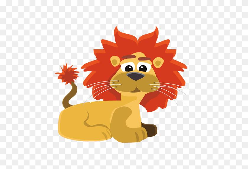 Funny Lion Cartoon - Lion Vector PNG