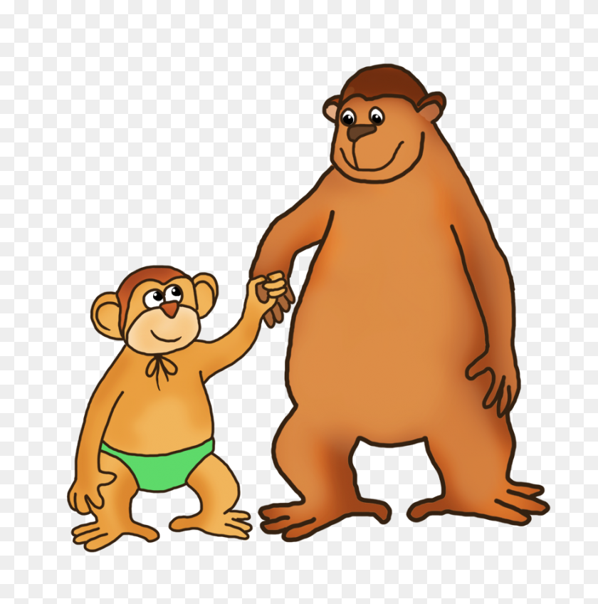 Brown monkey illustration, Monkey , safari transparent background PNG  clipart   HiClipart