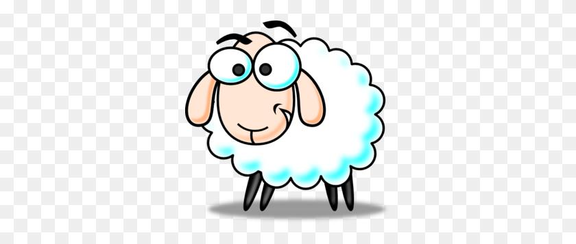 Funny Sheep Clip Art Blog Sheep, Sheep Cartoon - Sleeping In Class Clipart