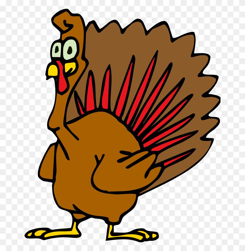 672x800 Funny Turkey Clip Art - Ask Clipart