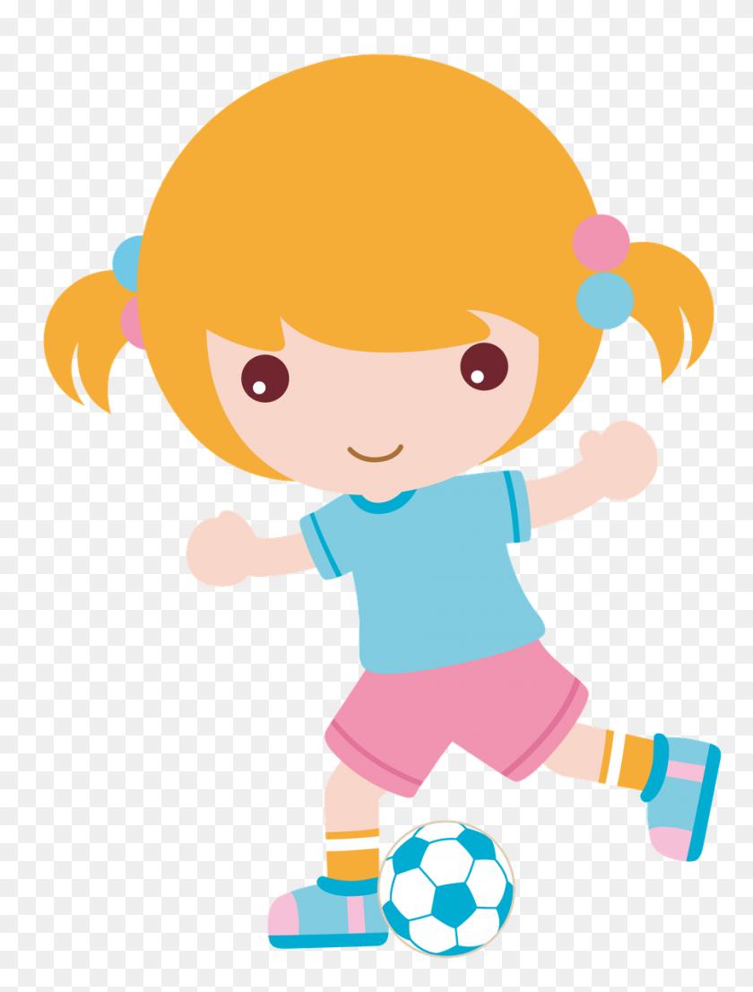 Futebol - Football Cartoon Clipart