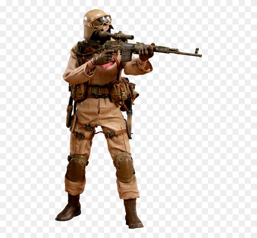 G I Joe Desert Ops Trooper Sniper Sixth Scale Figure - Scale Figure PNG