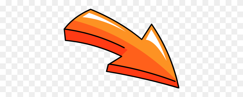 400x277 Gallery For Arrows Clip Art Free Clipartcow - Arrow Clipart Transparent