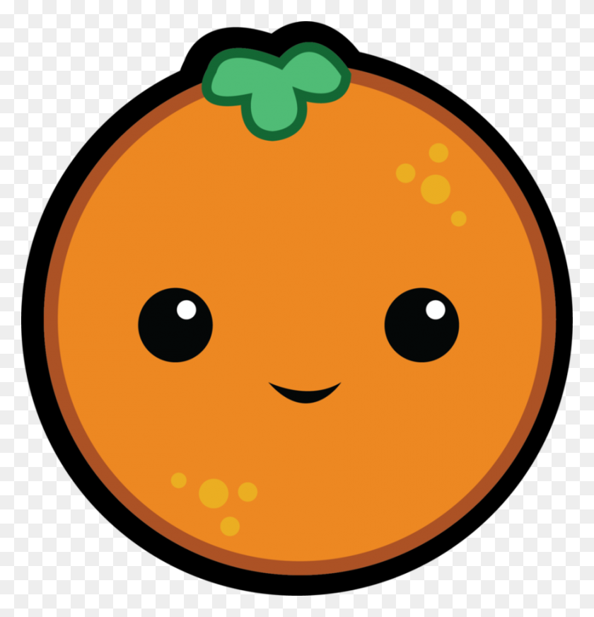 876x913 Gallery For Goldfish Clipart Png Cute Orange Fruit Cartoon - Oranges PNG