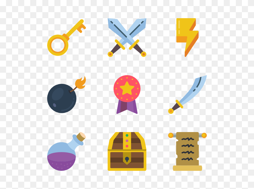 Gamer Icon Packs - Gamer PNG