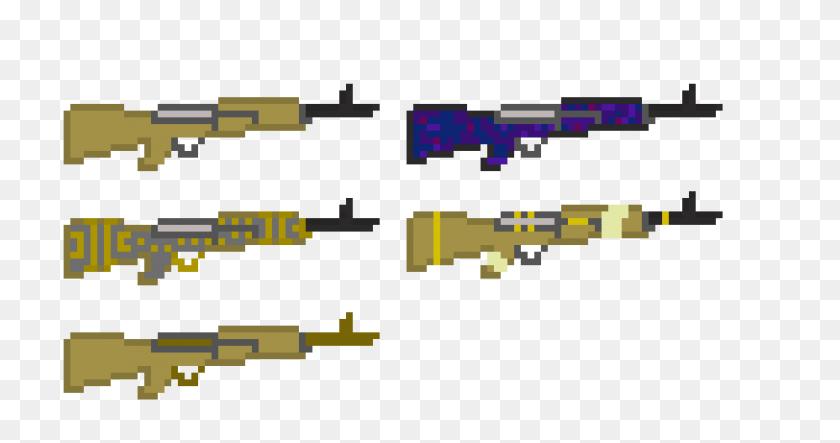 2320x1140 Garand Pixel Art Maker - M1 Garand PNG