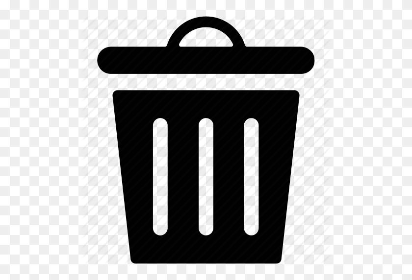 Garbage Bin, Garbage Can, Garbage Container, Trash Bin, Trash Can Icon - Trash Bin PNG