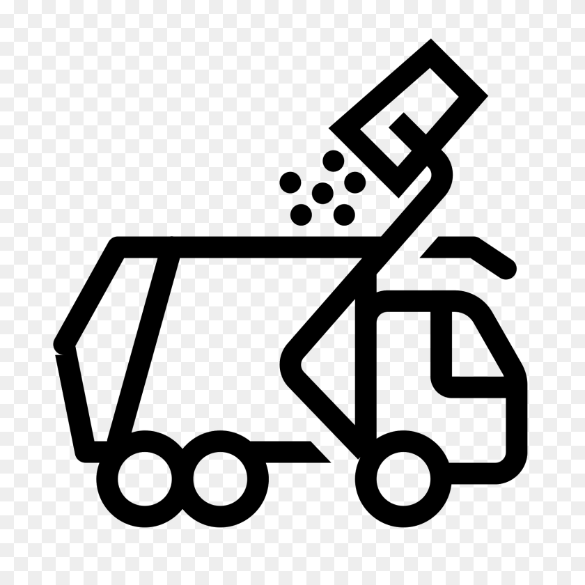 Garbage Truck Icon - Truck Icon PNG
