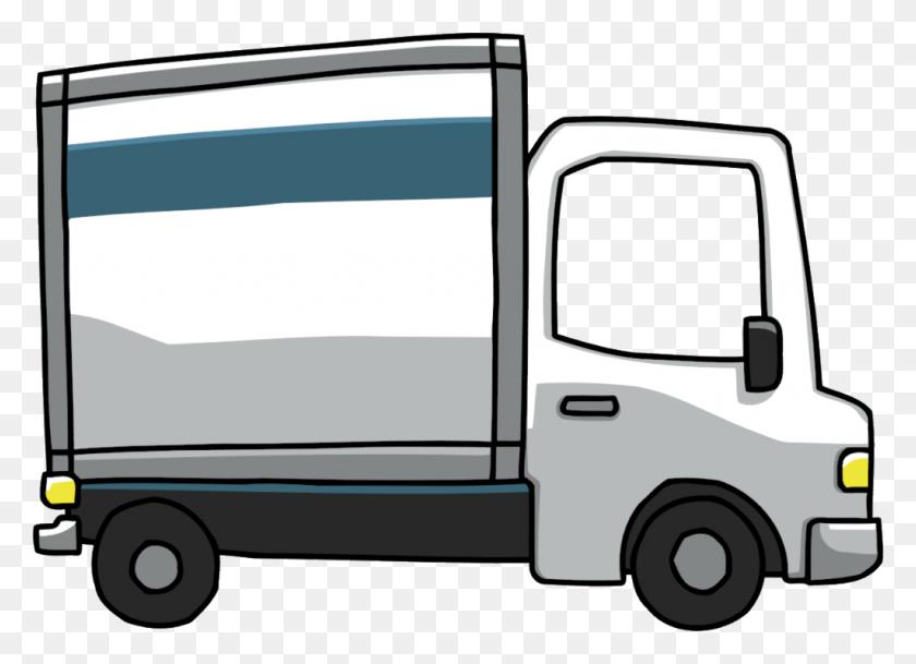 Garbage Truck Tractor Trailer Clip Art - Truck And Trailer Clip Art