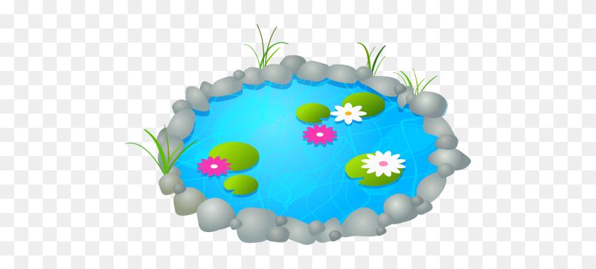 Garden Pond Png Clipart - Pond Animals Clipart