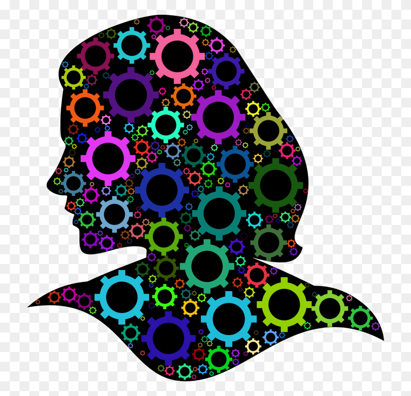 730x750 Gear Head Computer Icons Thought Neck - Monologue Clipart