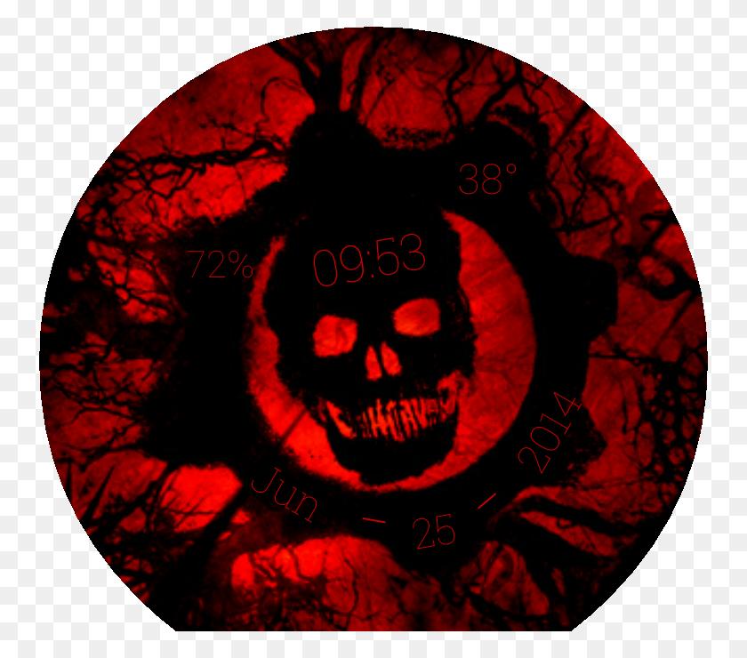 Gears Of War For Moto - Gears Of War Logo PNG