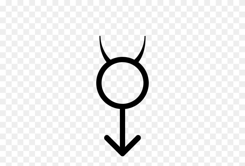 512x512 Gender Symbol Hermaphrodite Mercury Arrow Male Dark - Arrow PNG Transparent Background