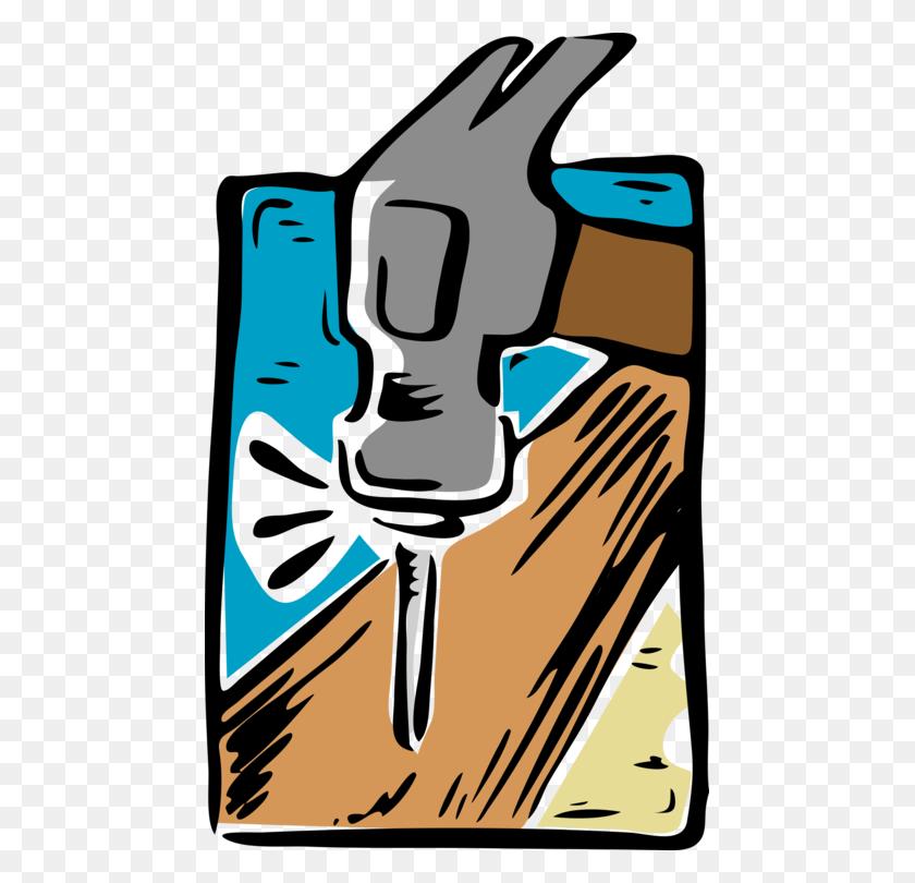 Geologist's Hammer Nail Tool Carpenter - Nail Clipart