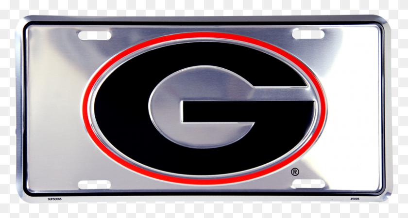 Georgia Bulldogs Anodized License Plate Uga Auto Tag Uga - Georgia Bulldogs PNG