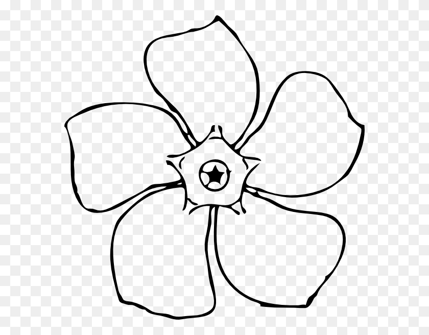 Gerber Daisy Lines Clipart - Gerber Daisy Clip Art