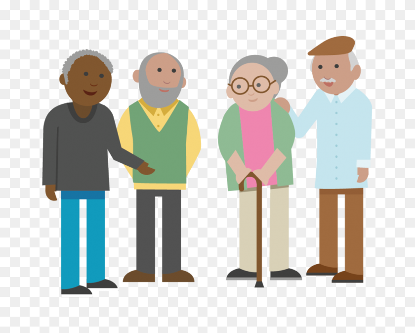 Get Involved Manchester Local Care Organisation - Old People PNG