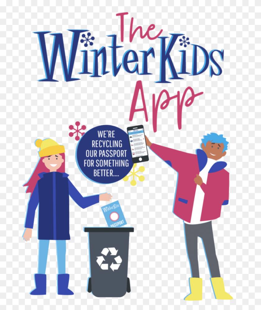 Get Kids Active In Maine New Hampshire Winterkids - Snow Tubing Clip Art