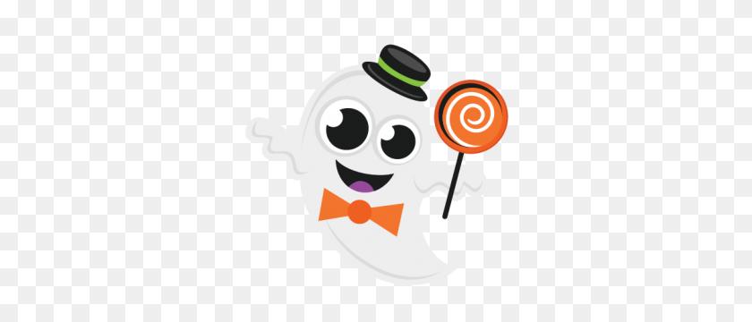 Ghost Miss Kate Cuttables Halloween - Halloween Skeleton Clipart