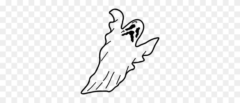 Ghostly Clipart Soul - Leftovers Clipart