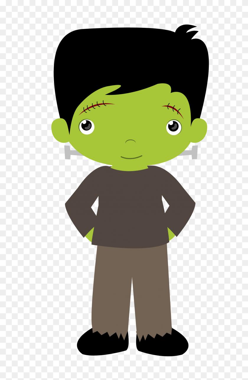 Gifs Halloween Clipart Halloween, Halloween - Frankenstein Head Clipart