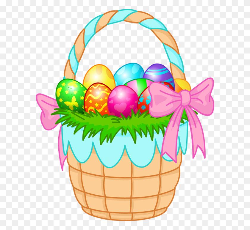 Gift Basket Easter Basket Clip Art - Easter Basket Clipart Black And White