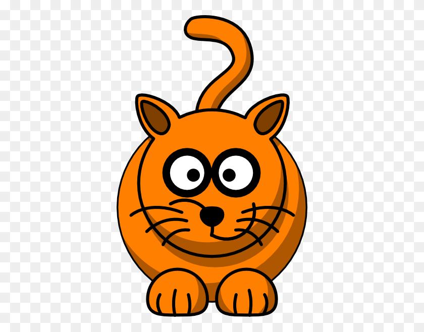 378x598 Ginger Cat Clipart Clip Art Images - Sad Cat Clipart