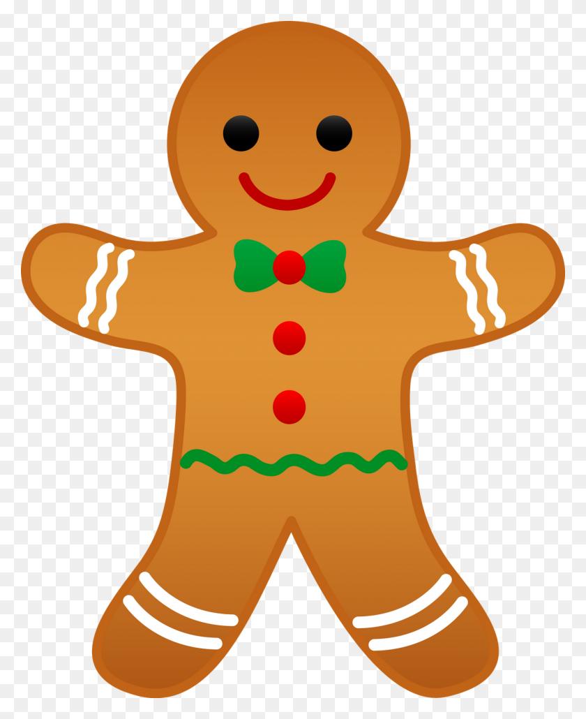 Gingerbread Clipart Cartoon - Christmas Bazaar Clipart
