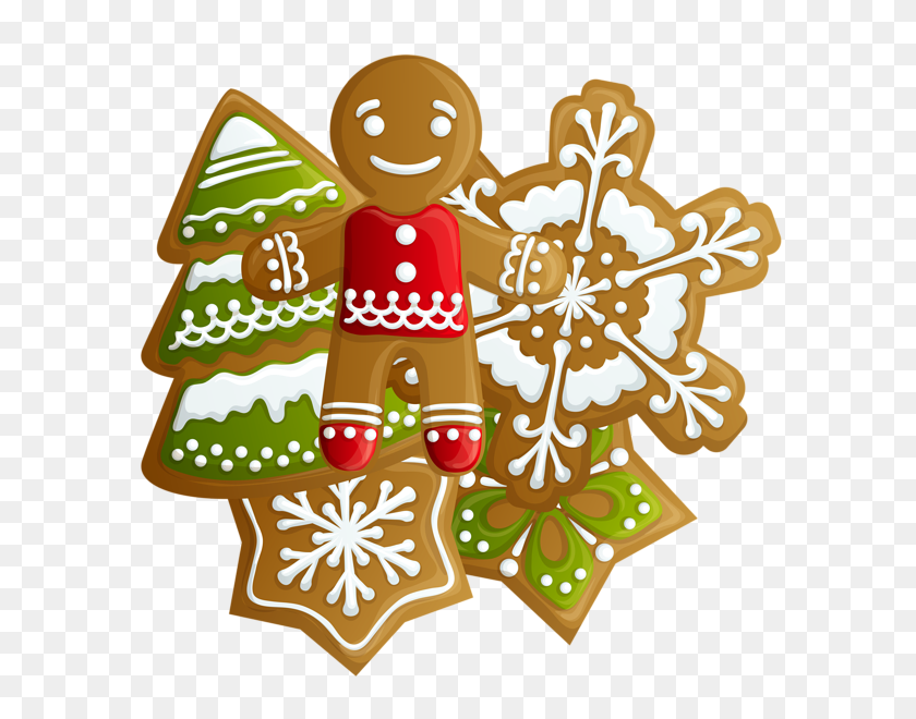 Gingerbread Clipart Holiday Cookie - Gingerbread Cookie Clipart