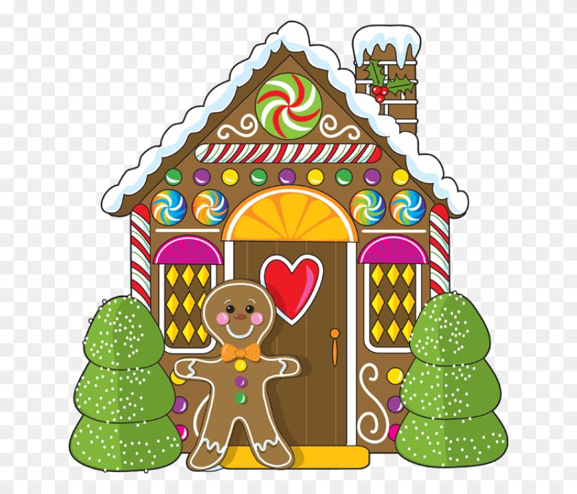Gingerbread House Clip Art For Christmas Fun For Christmas - Old House Clipart
