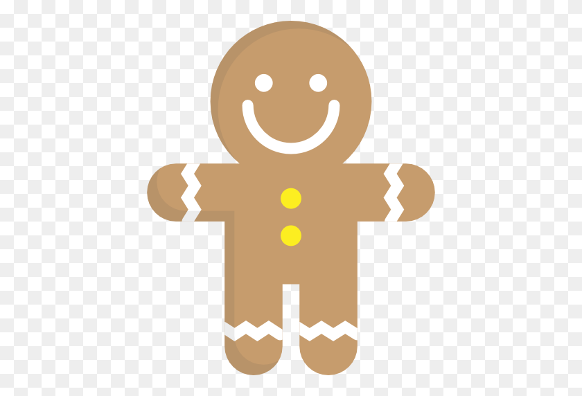Gingerbread Man, Food And Restaurant, Dessert, Gingerbread, Sweet - Gingerbread Man Clipart