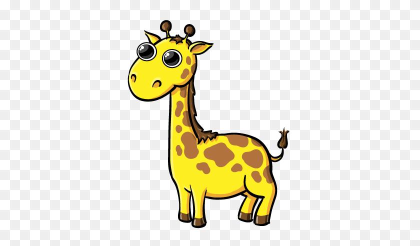 Giraffe Cartoon Baby Giraffe Cartoon Animal Clip Art Images - Baby Animals Clipart