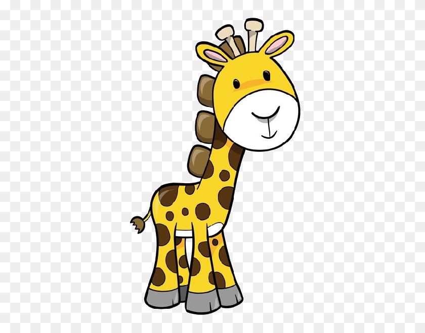 Giraffe Clip Art Animal Digis Giraffe, Cartoon - Saint Bernard Clipart