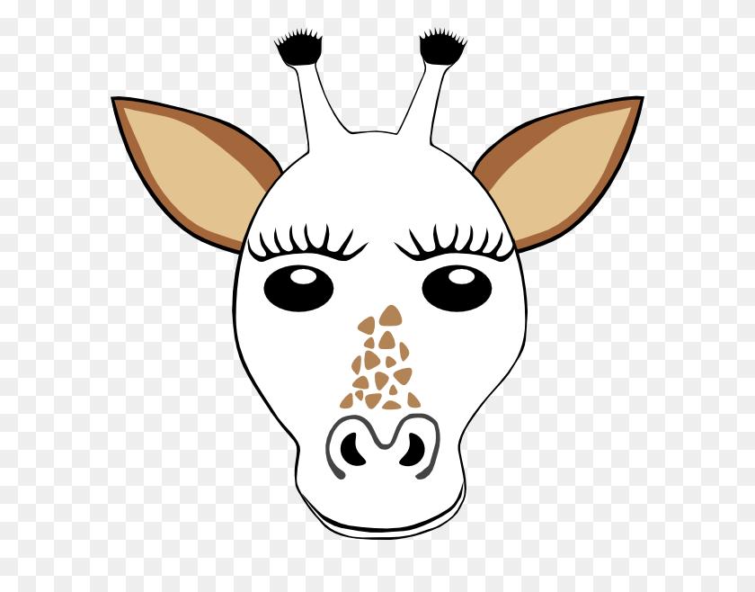 Giraffe Clipart Template - Giraffe Baby Clipart