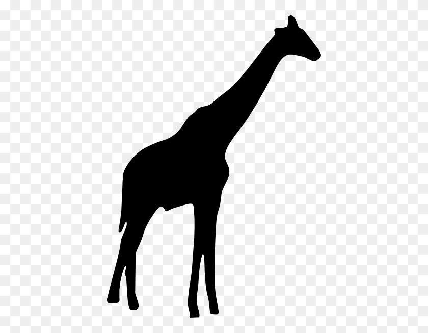 Giraffe Head Clipart Black And White, Giraffe Black And White - Giraffe Head Clipart