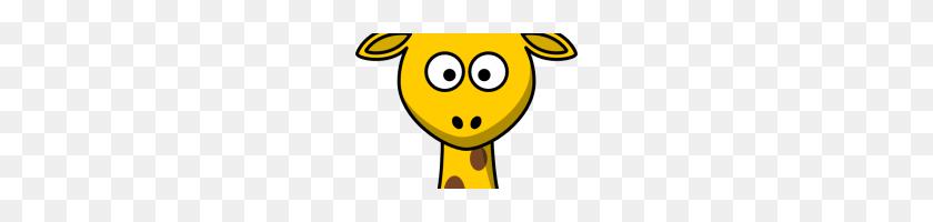 Giraffe Head Clipart Giraffe Head Clip Art - Panda Head Clipart