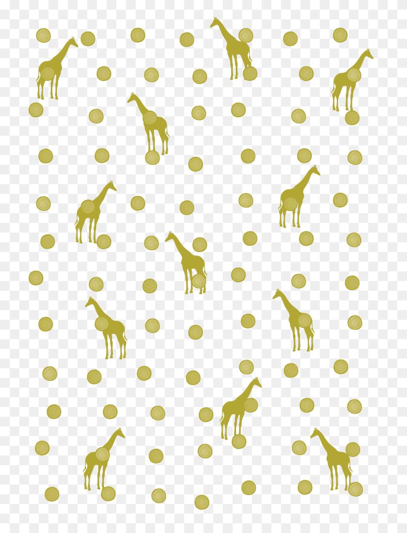 Giraffe Spots Men's Printed T Shirt Redesyn - Spots PNG