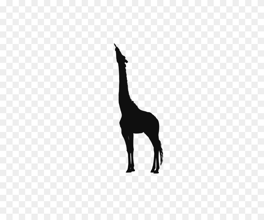 Giraffe Wild Clip Arts Animals Background, Giraffe, Paper Cutting - Giraffe Clipart Black And White