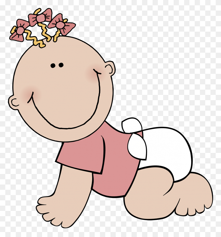 Girl Clip Art - New Baby Girl Clipart