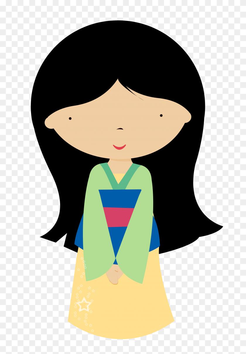 Girl Clipart And Vectors - Disney Princess Clipart